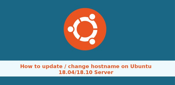 How to change Hostname in Ubuntu 18